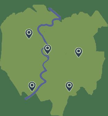 zone di intervento di fabbro roma